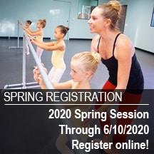 Register your dancer for spring classes!